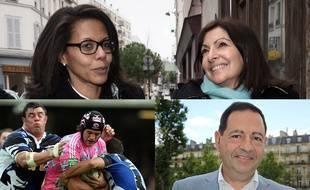 Audrey Pulvar, Pierre Rabadan et Jean-Luc Romero-Michel entrent dans l'exécutif d'Anne Hidalgo.