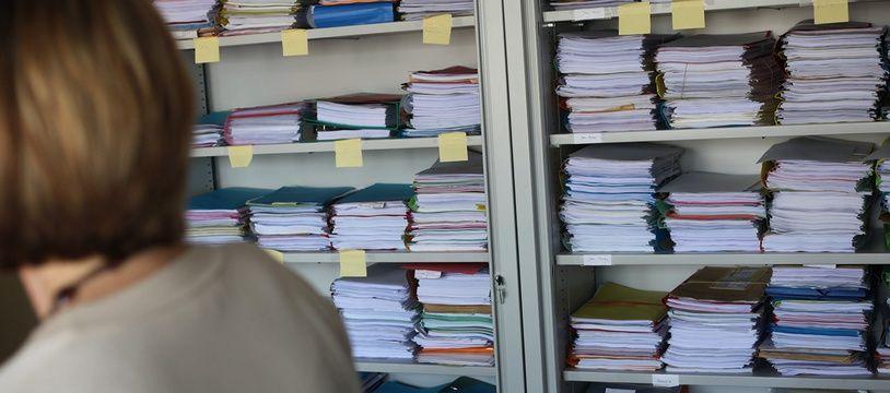 Le service de traitement des déclarations rectificatives du fisc à Paris.