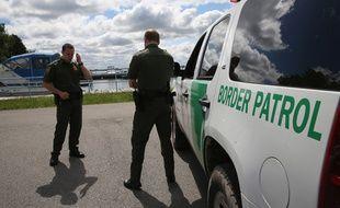 Une patrouille des gardes frontières américains (illustration).