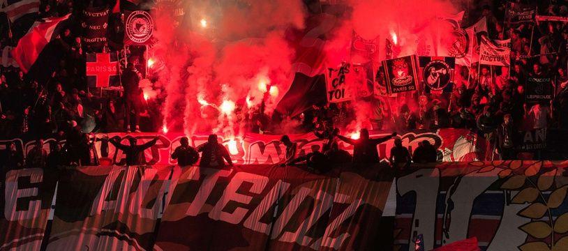 Le CUP a enflammé le Parc des Princes lors de PSG-Nice, le 27 octobre 2017.