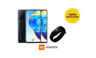 SFR vous propose une promo exceptionnelle avec le smartphone Xiaomi MI 10T à 1 euro plus le bracelet MI Smart remboursé