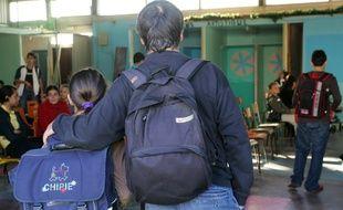 Un parent d'élève au collège Clisthène à Bordeaux.