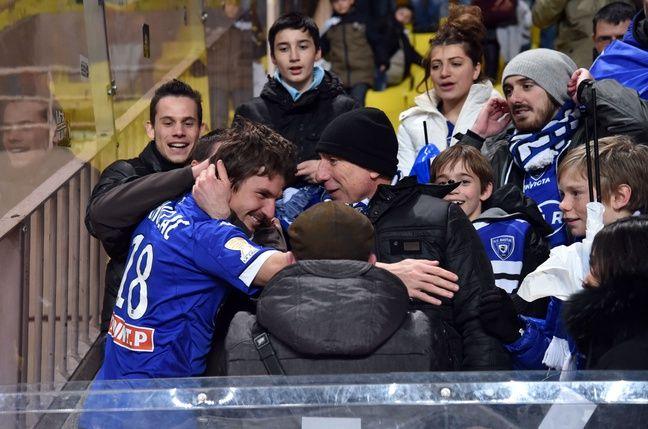 Yannick Cahuzac et les supporters de Bastia, le grand amour.