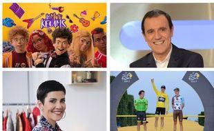 Cet été, pas de stress, la télé s'occupe de vos bambins.