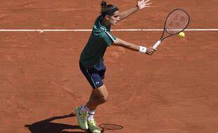 Pierre-Hugues Herbert, le 31 mai 2021 à Roland-Garros.