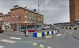 Les coups de feu ont été tirés à l'angle dela ruePonceau et de la rue du Chemin de fer à Dunkerque.
