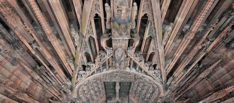 Strasbourg le 31 03 2016. La cathédrale de Strasbourg.