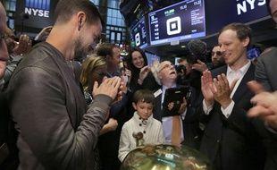Le patron de Square, Jack Dorsey, pour l'entrée en Bourse de son entreprise.