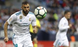 Benzema, avec le Real Madrid
