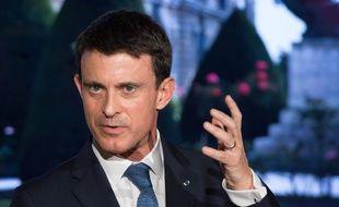 Manuel Valls lors de l'inauguration du musée Rodin, le 9 novembre.