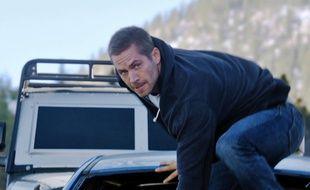 Paul Walker, dans Fast & Furious 7.