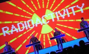 Le groupe Kraftwerk en concert à New York en 2012.