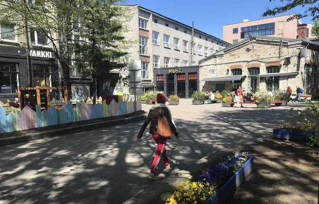 Le quartier Telliskivi, QG des hipsters estoniens, où l'incubateur de start-ups Lift 99 coule des jours heureux.