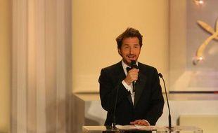 Edouard Baer, lors du festival de Cannes 2008.