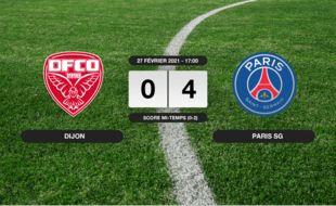 Dijon - PSG: Au stade Gaston-Gérard, le PSG se balade, Dijon dans le dur