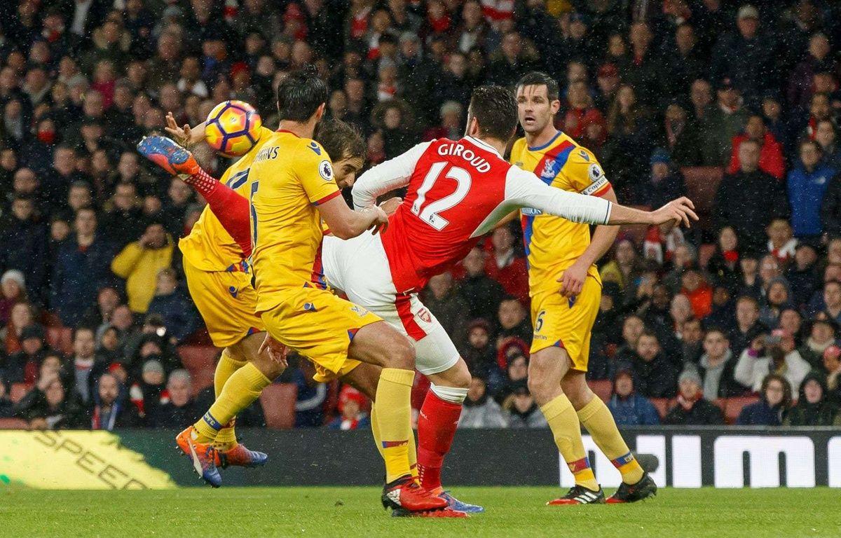 Olivier Giroud (Arsenal) a marqué un but splendide le1er janvier 2017 – BPI/Shutterstock/SIPA