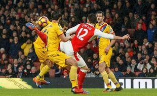 Olivier Giroud (Arsenal) a marqué un but splendide le1er janvier 2017