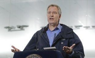Le maire de New York, Bill de Blasio, le 31 mars 2020.