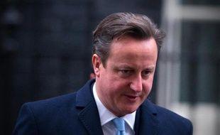 Le Premier ministre britannique David Cameron le 22 janvier 2014 à Londres