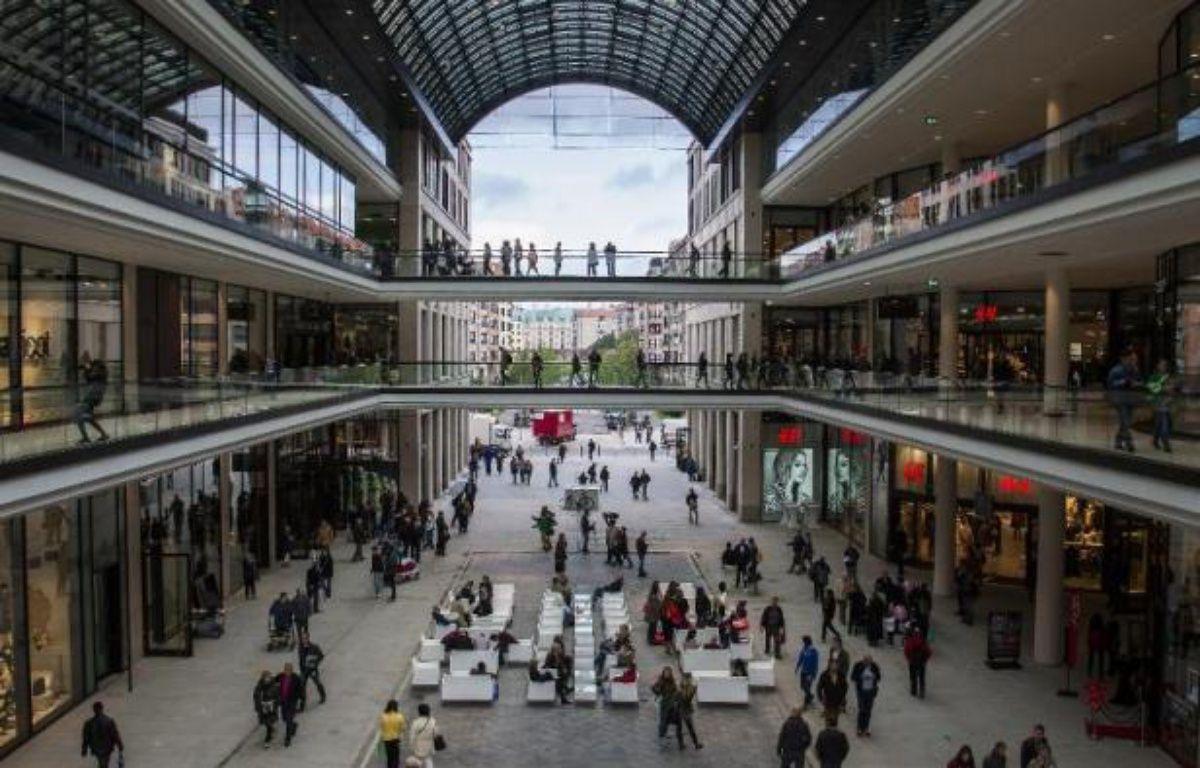 Le centre commercial LP12 qui a ouvert le 25 septembre 2014 à Berlin – Odd Andersen AFP