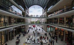 Le centre commercial LP12 qui a ouvert le 25 septembre 2014 à Berlin
