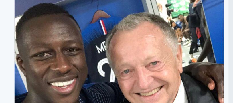 Tout peut arriver dans le football, même un Marseillais et un Lyonnais posant ensemble pour la photo.