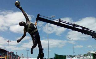 Rui Patricio aura droit à sa statue devant le stade de Leiria.