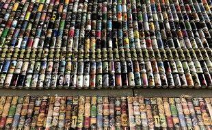 L'exposition raconte l'histoire de la bière
