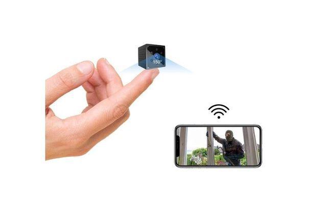 Caméra de surveillance sans-fil Kean 4K