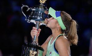 Sofia Kenin a battu Garbiñe Muguruza en finale à Melbourne