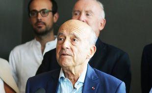Alain Juppé, le 9 septembre 2018 à Bordeaux.