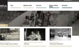 Le nouveau site Internet de l'association Mira.