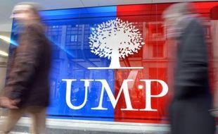 Le siège de l'UMPle 19 novembre 2012.