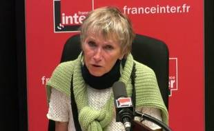 L'écrivaine française Anne Bert, le 6 septembre 2017