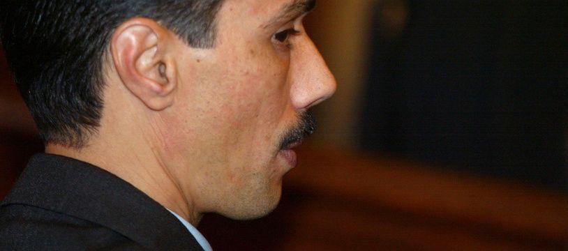 Paris, le 17 octobre 2002. Omar Raddad a été reconnu coupable du meurtre de Ghislaine Marchal.