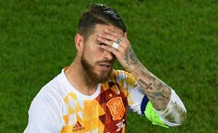 Ramos a raté un penalty face aux Croates.