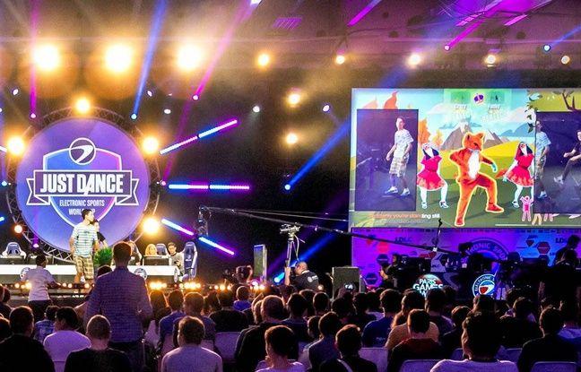 Just Dance faisait déjà irruption dans le monde de l'Esport en 2016 à l'ESWC.