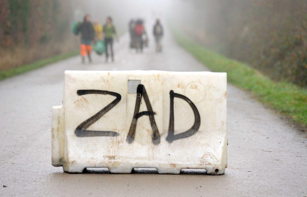 L'opposition au GCO peut-elle donner lieu à la naissance d'une ZAD en Alsace? (Photo d'illustration à Notre-Dame-des-Landes) – SALOM-GOMIS SEBASTIEN/SIPA