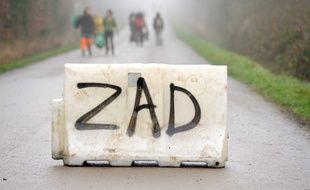 L'opposition au GCO peut-elle donner lieu à la naissance d'une ZAD en Alsace? (Photo d'illustration à Notre-Dame-des-Landes)