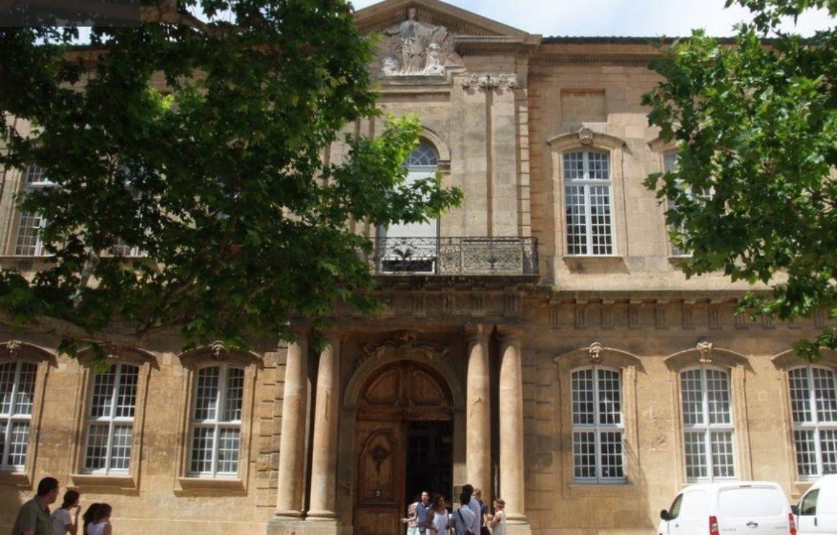 L'entrée de Sciences-Po d'Aix-en-Povence – Google Street View