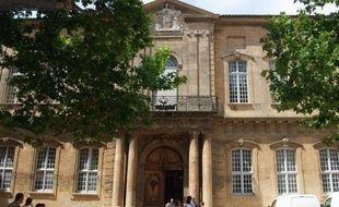 L'entrée de Sciences-Po d'Aix-en-Povence