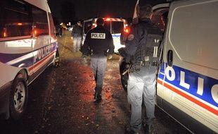 Opération de police dans le quartier du Neuhof, à Strasbourg (illustration).
