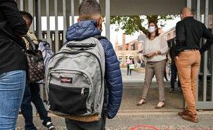 En Lozère, les élèves de primaire doivent remettre le masque (Photo d'illustration)