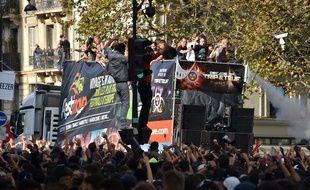 Techno Parade à Paris le 19 septembre 2015.