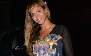 Beyoncé Knowles à Londres le 17 octobre 2014.