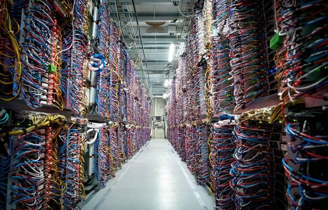 A l'intérieur d'un data center.