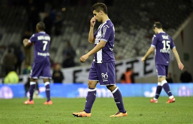 L'attaquant du TFC Wissam Ben Yedder lors du match de Ligue 1 contre Nantes, le 6 février 2016 au Stadium de Toulouse.