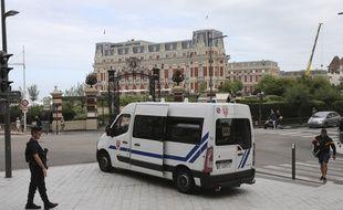 Déploiement des forces de l'ordre en vue du G7 à Biarritz