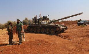 (Illustration) Des forces rebelles du groupe armé syrien Jaysh al Islam prise en 2015 dans la zone d'al-Zahra, dans la province d'Alep.