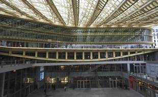 La canopée du forum des Halles des architectes Patrick Berger et Jancques Anziutti.